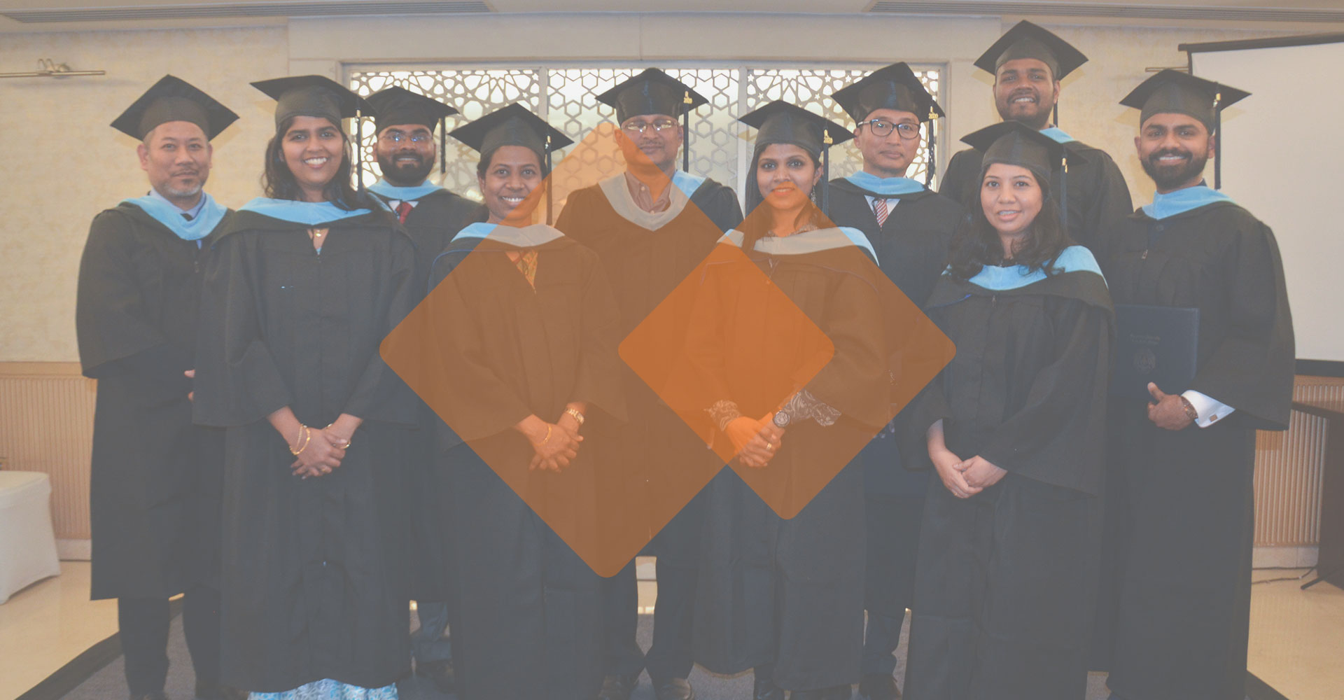Internationally Accredited Master's Degree